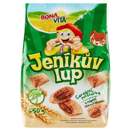 Bona Vita Jeníkův lup Cereal Pillows with Hazelnut Filling 250g