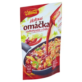 Vitana Hotová omáčka sladkokyselá s chilli 116g