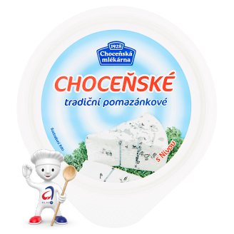 Choceňská Mlékárna Choceňské tradiční pomazánkové s nivou 150g
