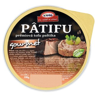 Veto Pâtifu Premium Tofu Pate Gourmet 100g