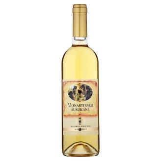 Monastirsko Šušukane Semisweet White Wine 0.75L