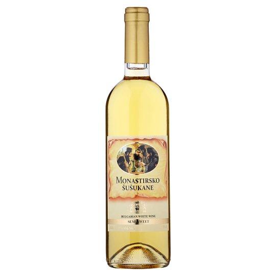 Monastirsko Šušukane White Wine Semi-Sweet 0.75L