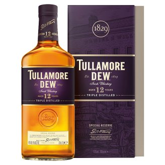 Tullamore Dew 12 Year Old Irish Whiskey 700ml