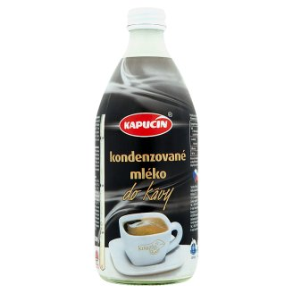 Kapucín Condensed Milk for Coffee 500g