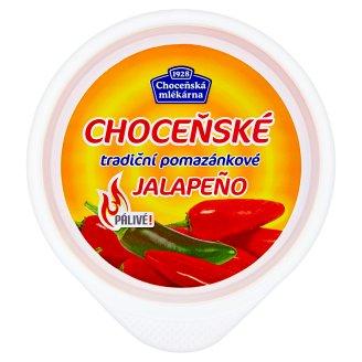 Choceňská Mlékárna Choceňské tradiční pomazánkové jalapeño 150g