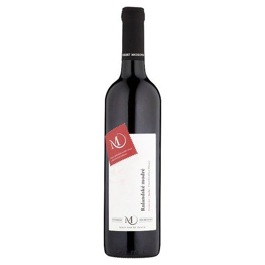 Vinselekt Michlovský Rulandské modré víno pozdní sběr, suché 0,75l