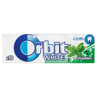Wrigley's Orbit White Sugar-Free Chewing Gum with Mint and ...