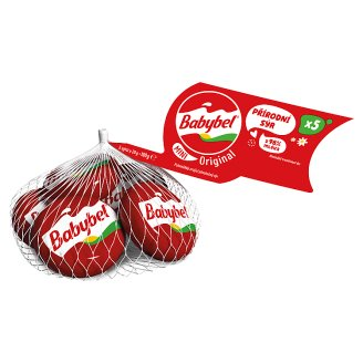 Babybel Mini Semi Soft Ripening Whole Cheese 5 x 20g