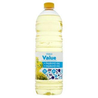 Tesco Value Řepkový olej 1l