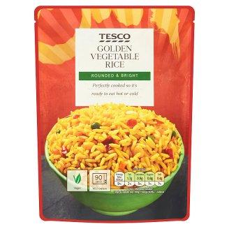 Tesco Golden Vegetable Rice 250g