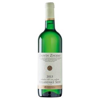 Znovín Znojmo Rulandské šedé odrůdové suché bílé víno jakostní 0,75l