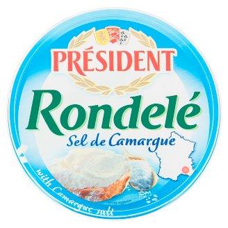 Président Rondelé jemný sýr se solí z kraje Camargues 125g