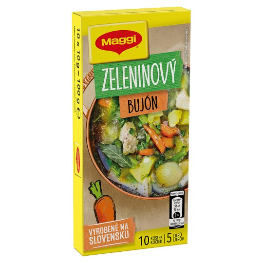 MAGGI Vegetable Broth in Cube 5l 10 x 10g