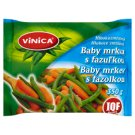 Vinica Deep Frozen Baby Carrot with Beans 350g