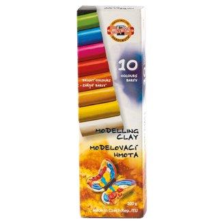 KOH-I-NOOR Modelovací hmota 10 barev 200g