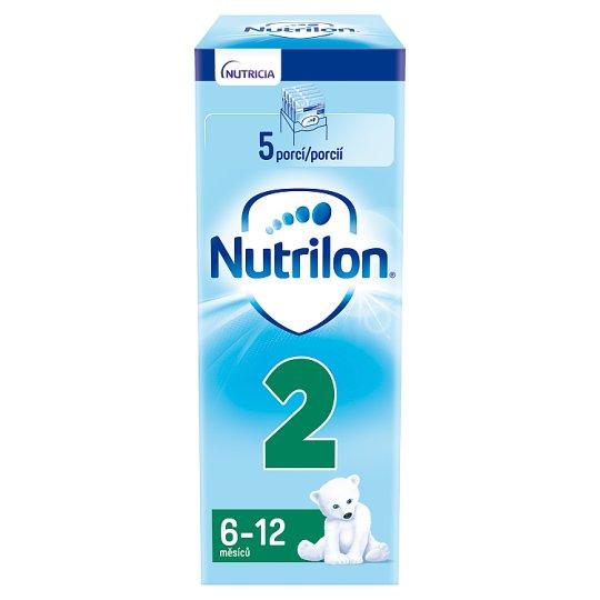 Nutrilon 2 pokračovací mléčná kojenecká výživa 6-12 měsíců 5 x 30g