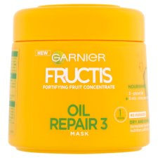 image 1 of Garnier Fructis Oil Repair 3 Mask 300ml