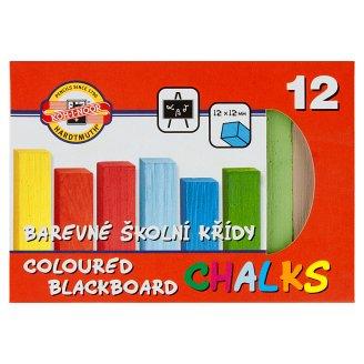 KOH-I-NOOR Barevné školní křídy 12 ks
