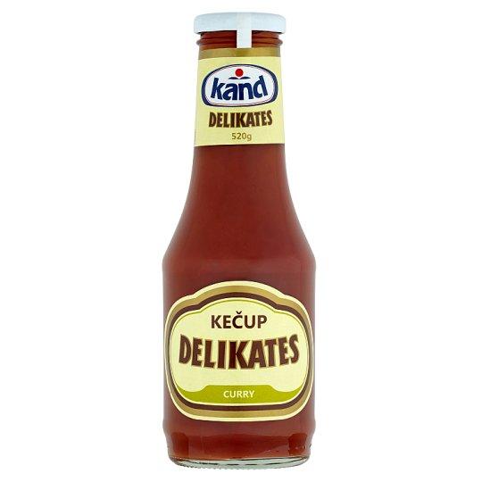 Kand Delikates Curry Ketchup 520g
