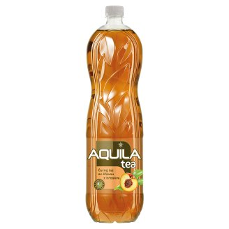 Aquila Tea Black Tea with Peach Juice 1.5L