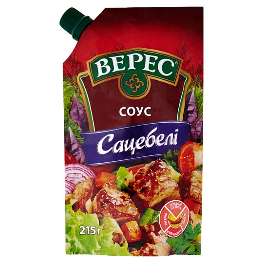 Veres Sacebeli Vegetable Sauce by Georgian Way 215g