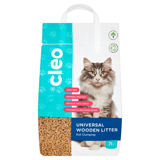 Cleo Universal Wooden Litter 7L