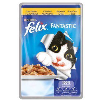 FELIX Fantastic with Chicken in Jelly 100g