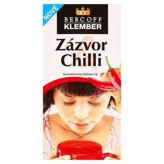Bercoff Klember Wellness Zázvor & Chilli aromatizovaný bylinný čaj 20 x 2,0g