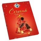 ORION Christmas Red Collection of Dark Chocolate 500g