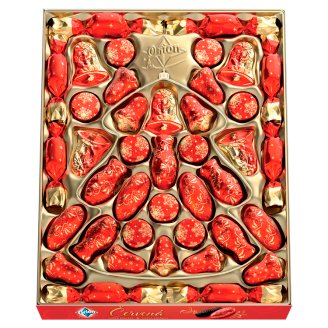 image 2 of ORION Christmas Red Collection of Dark Chocolate 500g