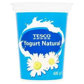Tesco Yogurt Natural 400g