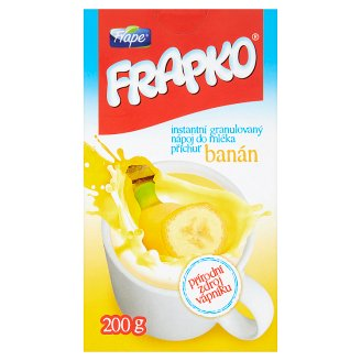 Frape Frapko Instant Granulated Drink in Milk Flavor Banana 200g