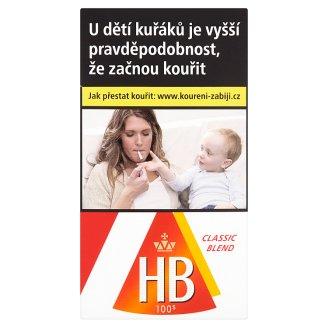 HB 100´s Classic Blend cigarety s filtrem 20 ks