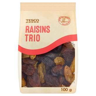 Tesco Raisins Trio 100g
