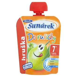 Sunárek Do Ručičky S hruškami 90g