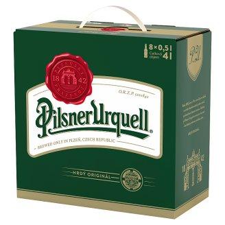 Pilsner Urquell Beer Lager Light 8 x 0.5L