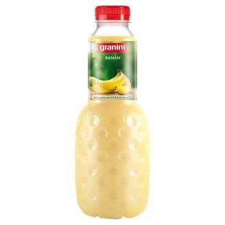 granini Banánový nektar vyrobený z dřeně 1l