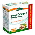 Naturline Mega Omega-3 1000mg Fish Oil 60+30 Capsules Free