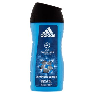 Adidas UEFA Champions League Champions Edition sprchový gel na tělo a vlasy pro muže 250ml