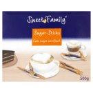 Sweet Family Třtinový cukr v tyčinkách, nerafinovaný 100 x 5g
