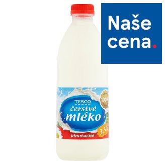 Tesco Fresh Whole Milk 3,5% 1L