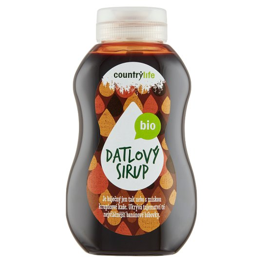 Country Life Organic Date Syrup 250ml