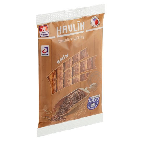 Havlík Cumin Long-Life Salt Stick with Cheese and Salt 90g