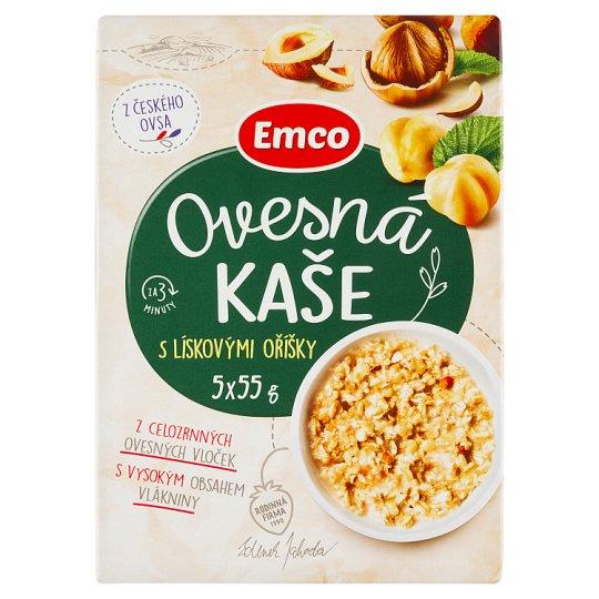 Emco Porridge with Hazelnuts 5 x 55g