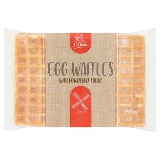 L´Chefs Egg Waffles with Powdered Sugar 260g