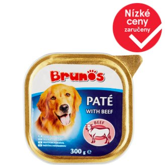 Brunos Paté with Beef 300g