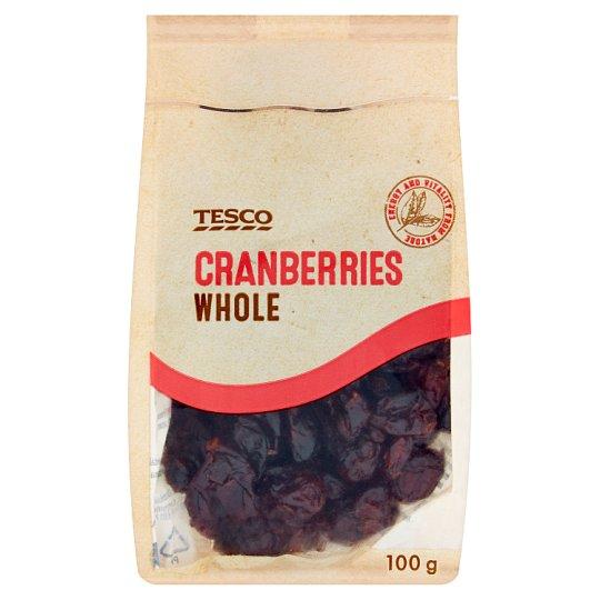 Tesco Cranberries Whole 100g