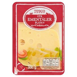 Tesco Sýr ementáler 45 % plátky 300g