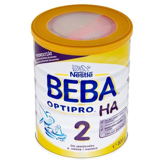 BEBA Optipro HA 2 od ukončeného 6. měsíce 800g