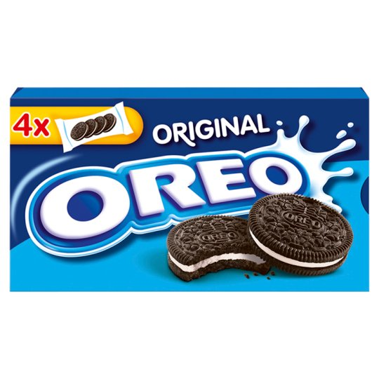 Oreo Original Cocoa Biscuits with Vanilla Flavor Filling 176g